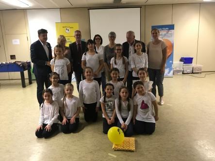 Die Tanz AG der Salierschule und alle Beteiligten freuen sich über die gelungene Veranstaltung.